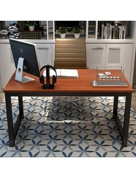 "Ebern Designs Capson Writing Desk To 55"" Large Computer Desk For Home Office & Reviews by Ebern Designs"