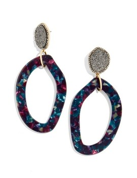 Tristana Drusy & Oval Drop Earrings by Baublebar