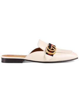 Leather Slipper Home Women Shoes Mules by Gucci
