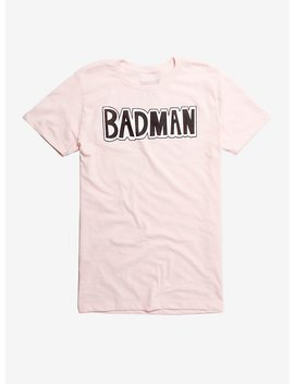 Dragon Ball Z Badman Pink T Shirt Hot Topic Exclusive by Hot Topic