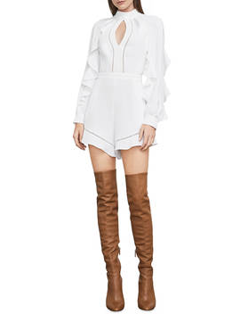 Beatrix Open Back Romper by Bcbgmaxazria