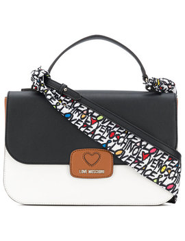 Colour Block Large Tote Baghome Women Bags Tote Bags by Love Moschino