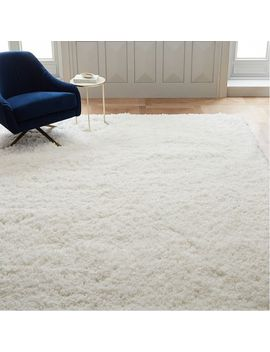 Cozy Plush Rug   White by West Elm