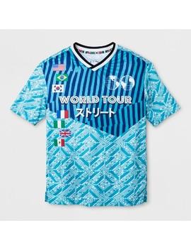 Boys' Argyle Soccer Short Sleeve T Shirt   Art Class™ Blue by Art Class™
