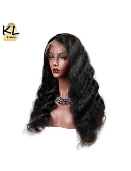 Kl Hair Body Wave Lace Front Human Hair Wigs For Black Women Pre Plucked Brazilian Remy Hair Lace Wigs With Baby Hair Glueless by Kl