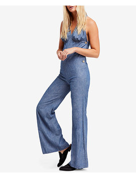Dance All Night Flared Open Back Jumpsuit by Free People