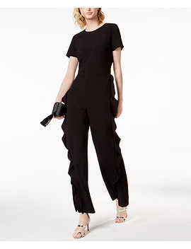 Ruffled Jumpsuit, Created For Macy's by Bar Iii