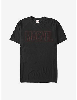 Marvel Classic Outline Logo T Shirt by Hot Topic