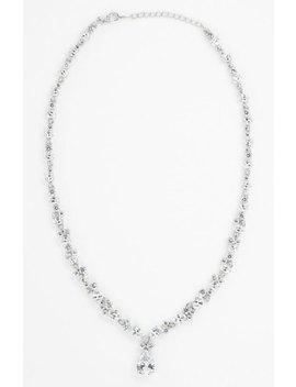 Teardrop Pendant Necklace by Nadri