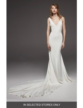 Hispalis Crepe Cowl Back Gown by Atelier Pronovias