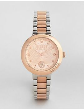 Versus Versace Sp3706 Lantau Island Bracelet Watch In Mixed Metal by Versus Versace