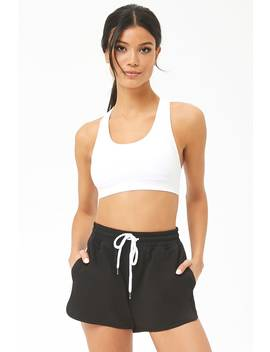 Active French Terry Dolphin Shorts by Forever 21