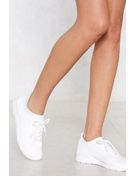 Get To Knit Sneaker by Nasty Gal