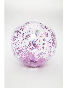 Pool Candy Glitter Beach Ball by Forever 21