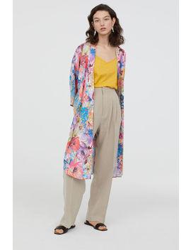 Crêped Satin Kimono by H&M