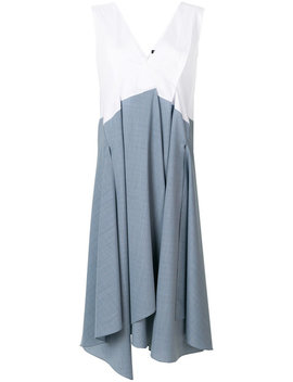 Layered Skirt Shift Dresshome Women Clothing Day Dresses by Jil Sander Navy