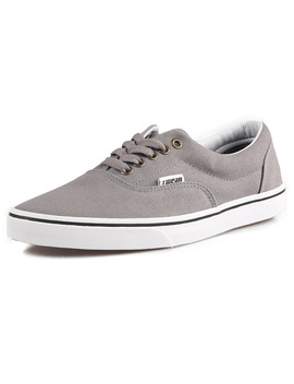 Tweak Unisex Men Women Canvas Low Top Sneakers Skateboarding Shoes Basic Design Couple Athletic Shoes Khaki Grey Ect 8 Colors by Tweak