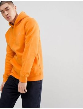 Stussy Hoodie With Back Script Logo In Apricot by Stussy