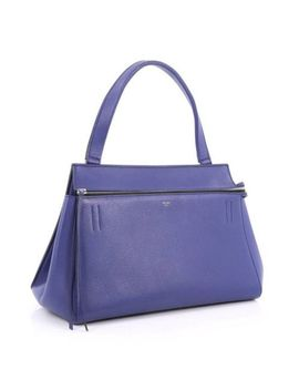 Authentic Celine Edge Medium Bag (Blue)   Rrp $3400 by Celine