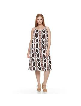 Plus Size Apt. 9® Strappy Back Midi Tank Dress by Plus Size Apt. 9