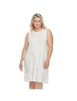 Plus Size Apt. 9® Ribbed Shift Dress by Plus Size Apt. 9