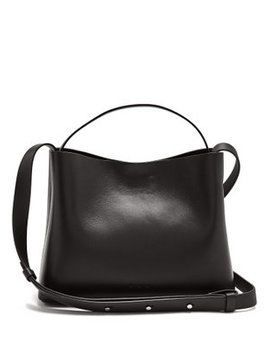 Sac Mini Leather Tote Bag by Aesther Ekme