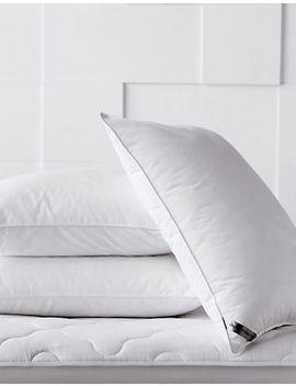 Premimum Cluster Fill Medium Support Pillow by Glucksteinhome