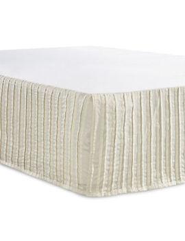 Berkeley Textured Bed Skirt by Glucksteinhome