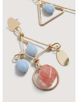 Kombinierte Asymmetrische Ohrringe by Mango