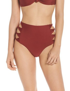 Love Letters High Waist Bikini Bottoms by Bca