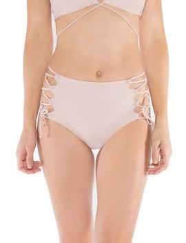 Aleja High Waist Bikini Bottoms by Byrds Of Paradise