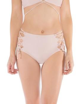 Aleja High Waist Bikini Bottoms by Byrds Of Paradise