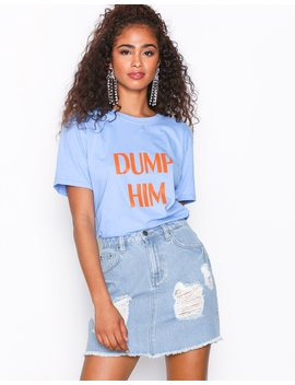 Destroy Mini Denim Skirt by Nly Trend