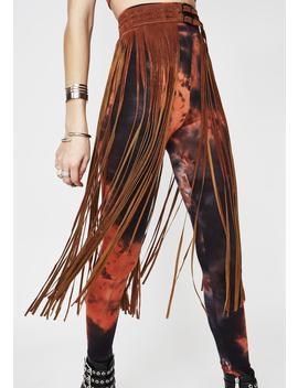 Down The Line Fringe Belt by Illuma Fashion