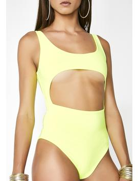 Sunny Open Space Bodysuit by Lux La