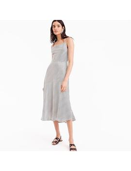 Collection Silk Slip Dress by J.Crew