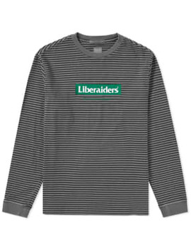 Liberaiders Long Sleeve Box Logo Tee by Liberaiders