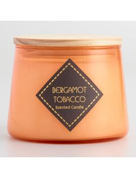 Bergamot Tobacco Orange Filled Jar Candle by World Market