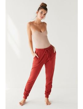Out From Under Finn Ruched Jogger Pant by Out From Under