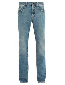 Classic Five Pocket Skinny Fit Jeans by Saint Laurent