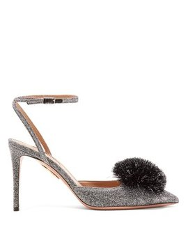 Powder Puff 85 Pumps by Aquazzura