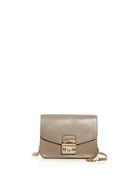 Metropolis Small Leather Crossbody by Furla