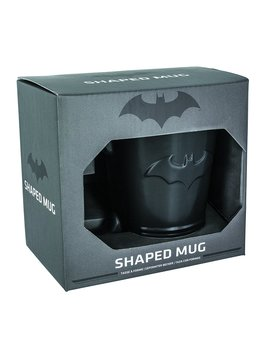 Batman Shaped Ceramic Coffee Mug   Dc Comics Embossed Cup by Paladone