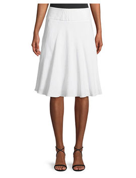 Summer Fling Linen Blend Skirt by Neiman Marcus