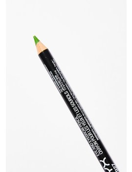 Acid Green Eye/Eyebrow Pencil by Nyx