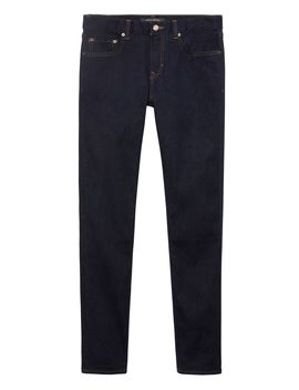 Athletic Tapered Rapid Movement Denim Stay Blue Jean by Banana Repbulic