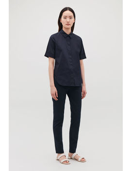 Slim Short Sleeved Shirt by Cos