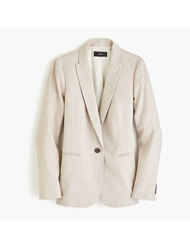 Petite Parke Blazer In Stretch Linen by J.Crew