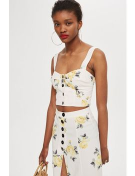 **Florence Floral Corset Top By Nobody's Child by Topshop