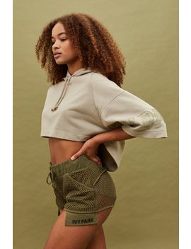 Mesh Shorts By Ivy Park by Topshop